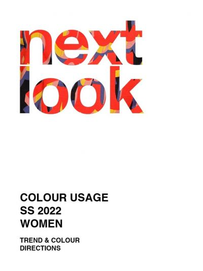 Next Look Colour Usage SS 22 Trendbook Colour directions