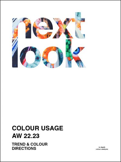 Next Look Colour Usage AW 22/23 Trendbook Colour directions